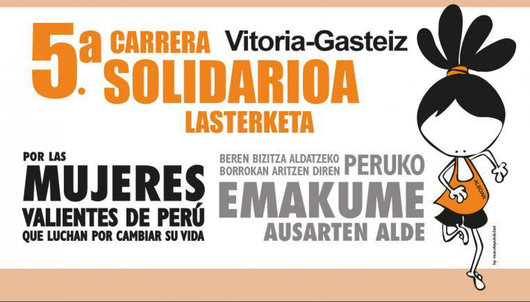 Carrera solidaria por las Mujeres Valientes