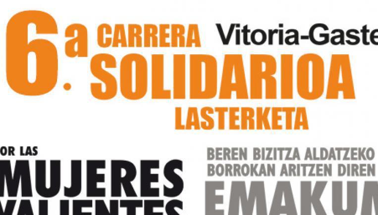 6ª Carrera solidaria por las Mujeres Valientes