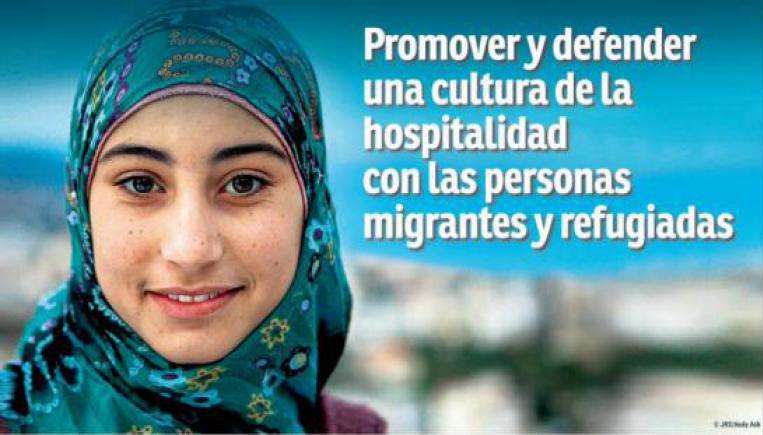 Promover y defender una cultura de la hospitalidad con20 de junio. Promovemos y defender una cultura de la hospitalidad las personas migrantes y refugiadas