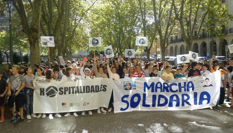 Jornada solidaridad con personas refugiadas y migrantes en Pamplona