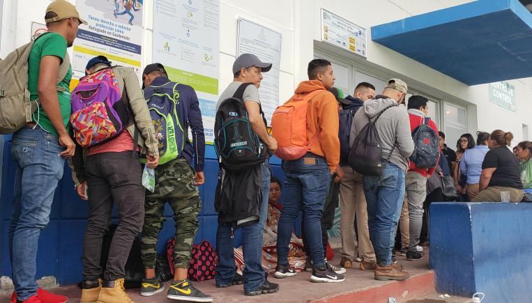 Irizar apoya a las personas migrantes en Centroamérica