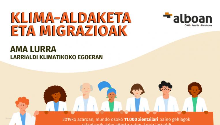 Migrazioak eta klima-aldaketa