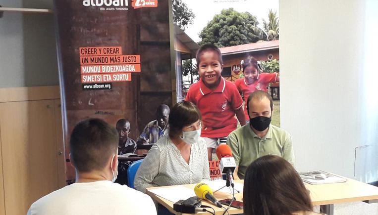 Alboan reafirma ante la prensa su compromiso por la justicia global