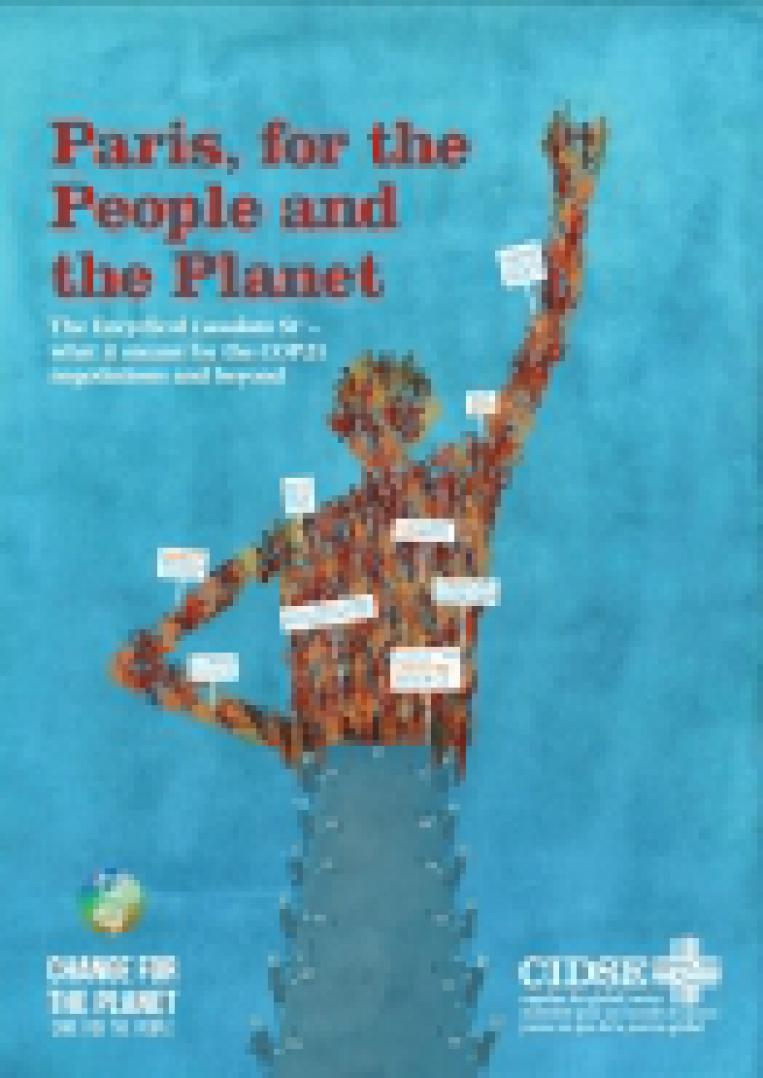 París, para las Personas y el Planeta