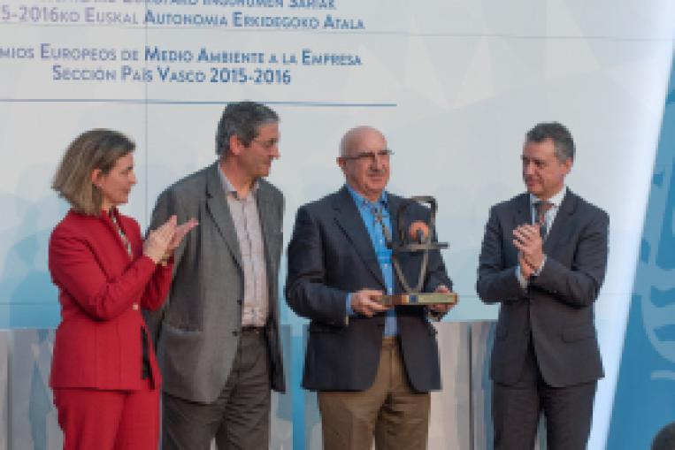 Entrega de premios de Medio ambiente a la empresa UDAPA