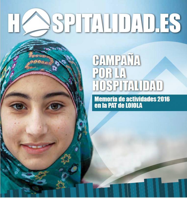 Memoria Hospitalidad 2016