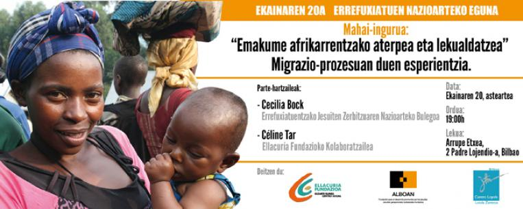 Afrikako emakume errefuxiatuen gaineko mahaingurua
