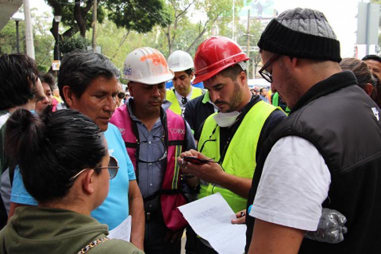 Emergencia terremoto en México