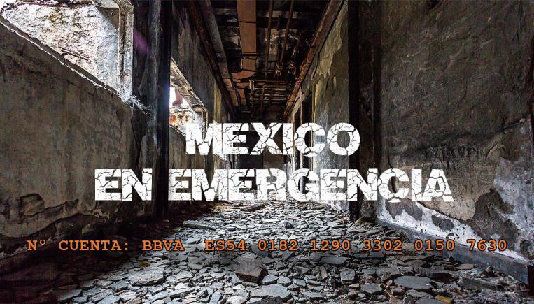 mexico emergencia terremoto 2017 - imagen sugerente