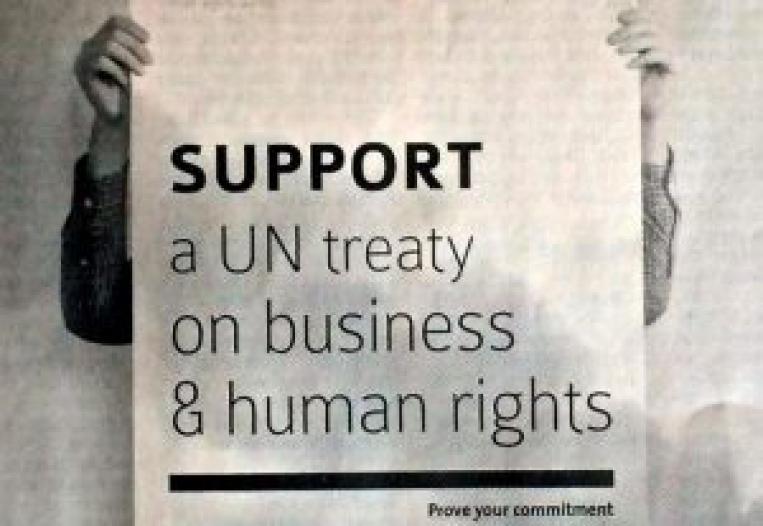 Tratado Vinculante de Empresas y Derechos Humanos