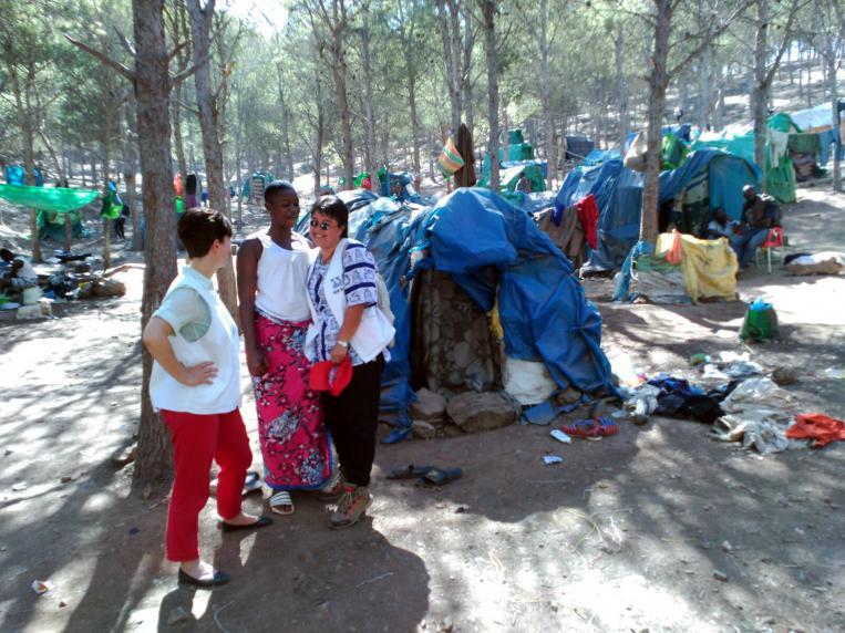 Emakume migranteak Nadorren