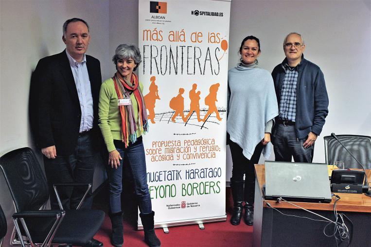 Errefuxiatuei buruzko jardunaldia Iruñean
