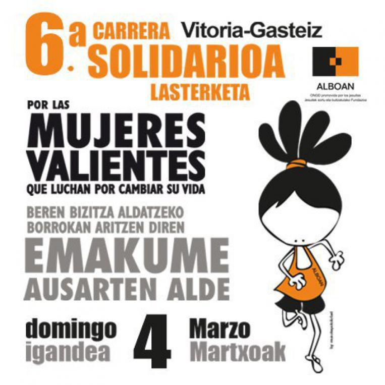 Carrera Solidaria ALBOAN Mujeres Valientes