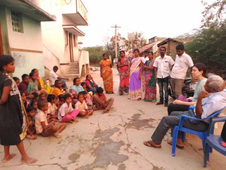 Las mujeres dalits organizadas por sus derechos laborales