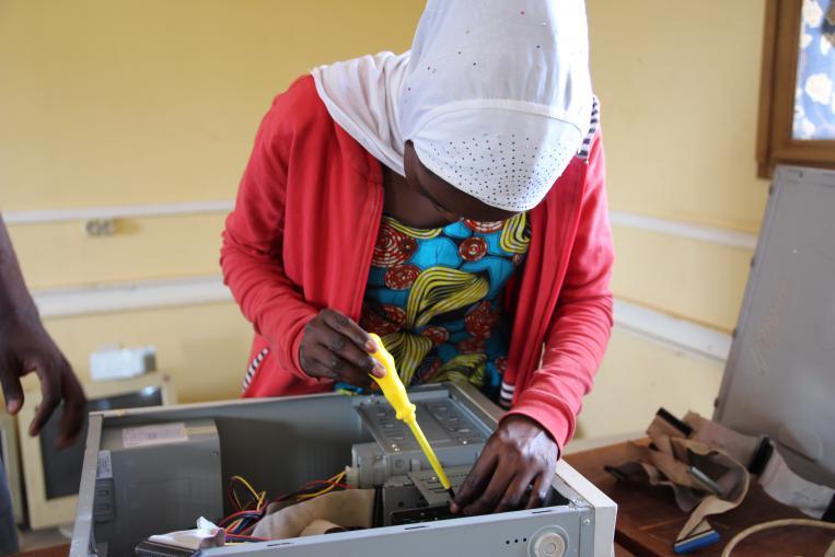 Fundación Caja Navarra apoya a las personas refugiadas de República Centroafricana en Camerún