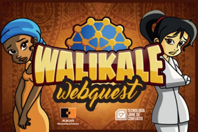 El reto Walikale Webquest llega a Vitoria-Gasteiz