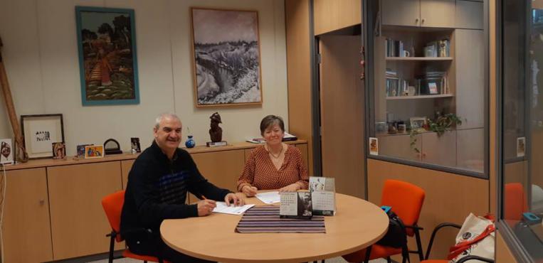 REAS Euskadi y ALBOAN formalizan su apuesta conjunta por la economía solidaria