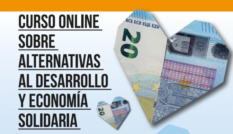 De marzo a junio 2019, curso online sobre alternativas al desarrollo y economía solidaria