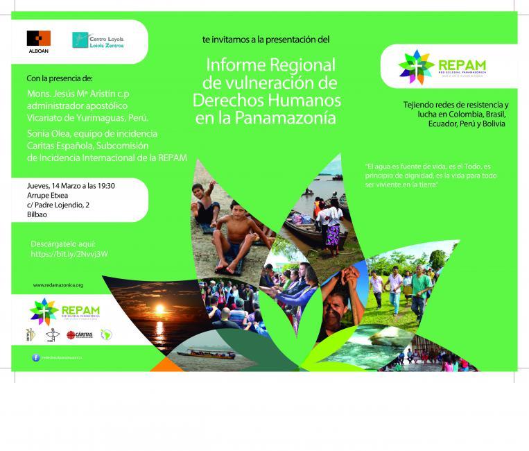 Presentación del Informe sobre vulneraciones de DDHH en la Amazonía