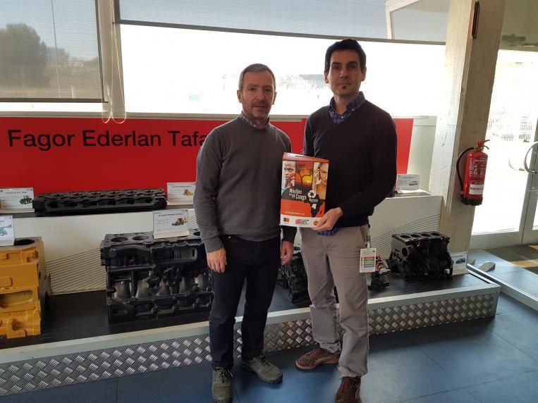 Fagor Ederlan colabora con Móviles por el Congo