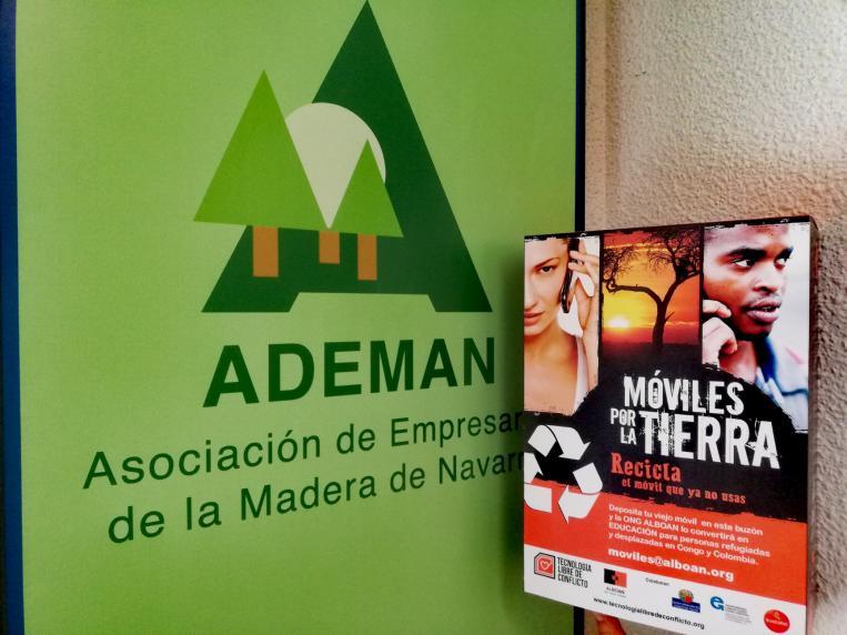 ADEMAN pone en marcha su colaboración con la iniciativa Móviles por la Tierra