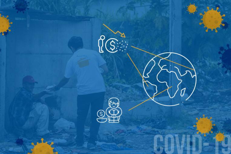 La pandemia en los países en desarrollo y las ONGs
