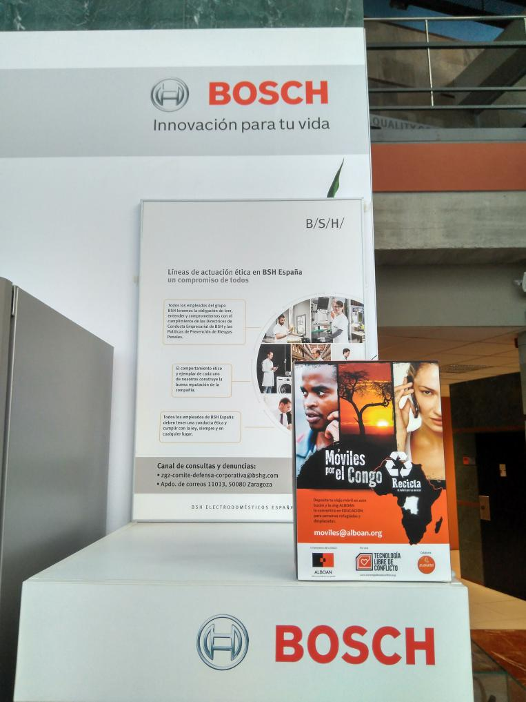 BSH renueva su colaboración con la campaña Tecnología libre de conflicto
