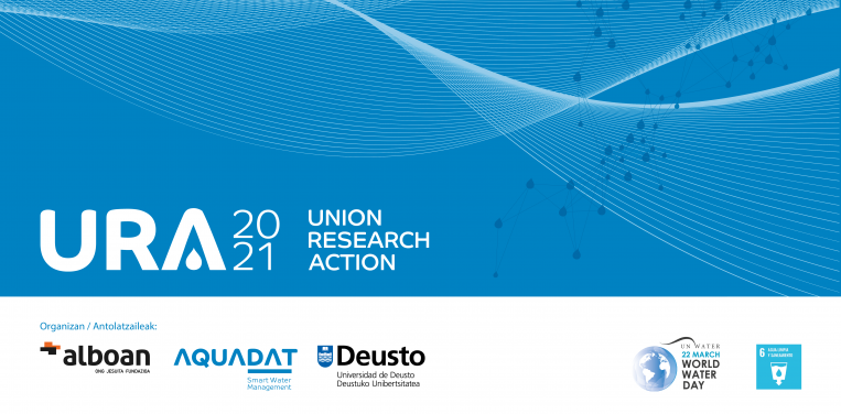 """Alboan, AQUADAT y la Universidad de Deusto lanzan el proyecto """"URA 20-21"""" para sensibilizar sobre la crisis mundial del agu"""
