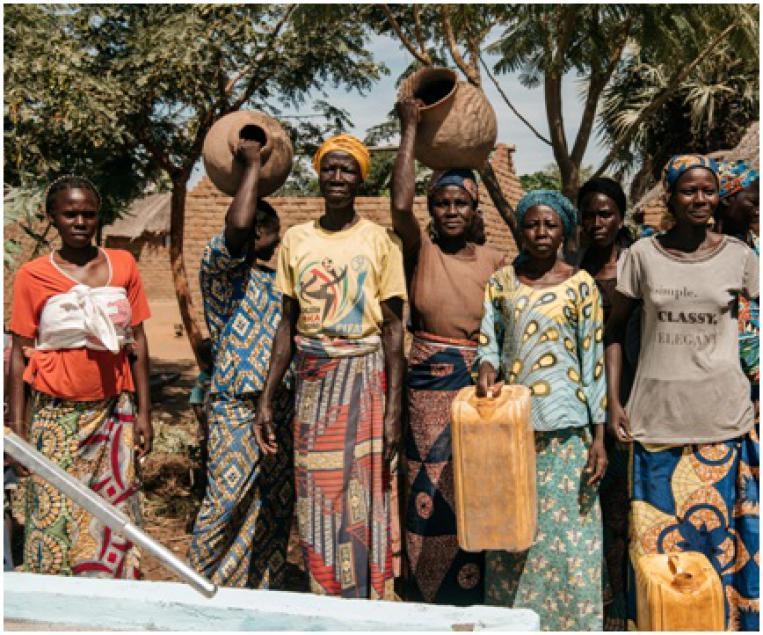 La Delegación de Navarra del COAVN colabora en un proyecto de agua en Chad