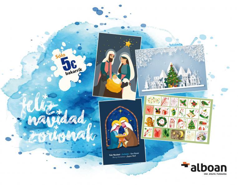 Felicita la Navidad con Alboan