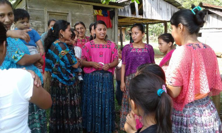 Kruce apoya la formación de las mujeres indígenas en Guatemala