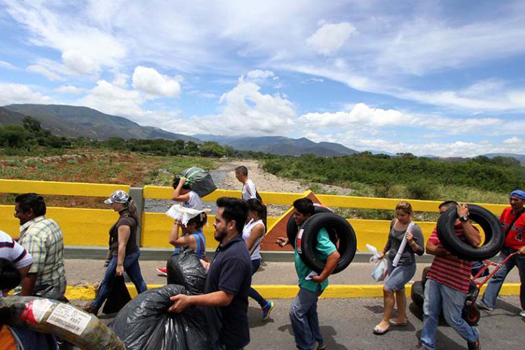 realidad de las personas venezolanas refugiadas y forzadas a migrar exige el compromiso de la comunidad internacional