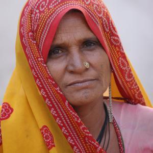 Vida digna para las viudas de la India