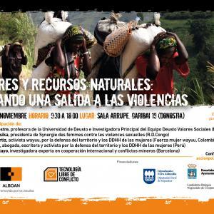 Mujeres y recursos naturales: Buscando una salida a las violencias