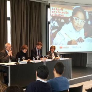 La cooperación española en educación