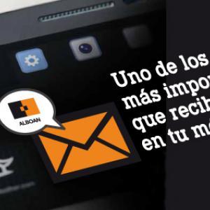 mensaje en móvil