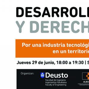 Jornada sobre Desarrollo Tecnológico y Derechos Humanos