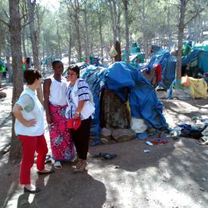 Mujeres migrantes en Nador