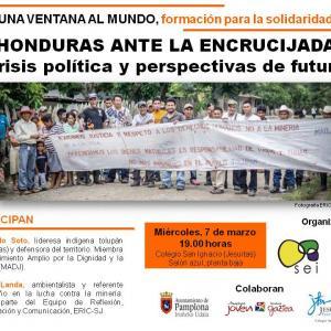 Defensores de DDHH visitan Bilbao y Pamplona