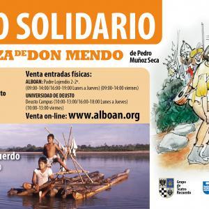 16 de junio. Teatro solidario en la Universidad de Deusto, Bilbao
