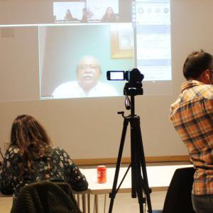 Videoconferencia con prensa en conexión con México y Honduras sobre la #CaravanaMigrantes