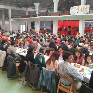 Canasa Logística, Carretilla, Señorío de Sarria, NYASA, Chocolates Subiza, PTV Pamplona, Insalus, Muxote Potolo Bat y CYC colaboran con la Comida Solidaria