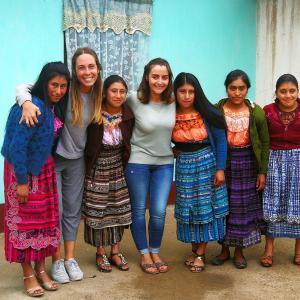 Edurne eta Nerea, IGERekoekin egindako egonaldian, Guatemalan
