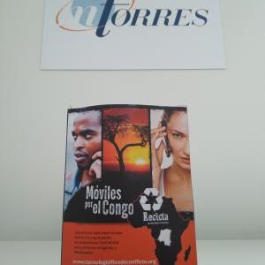 MTorres participa en la iniciativa Móviles por el Congo