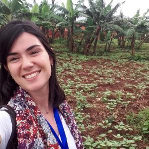 Miren Mendiluce, voluntaria VOLPA