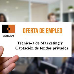 Técnico/a de Marketing y Captación de fondos privados