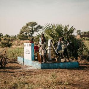AUARA apoya la construcción de pozos de agua en Chad