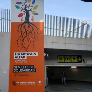 ALBOAN en el exposición Semillas de Solidaridad de Kutxa Fundazioa