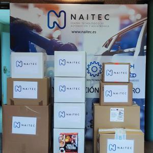 Doble colaboración de Naitec en iniciativas solidarias