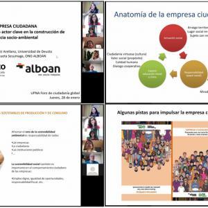 Conferencia en la UPNA sobre Empresa Ciudadana